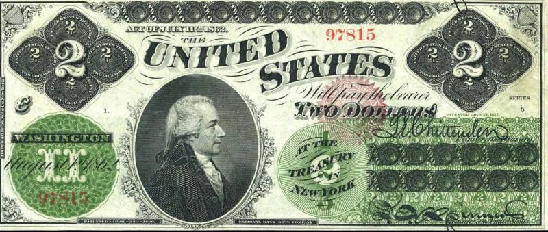 бессменным «лицом» купюры вновь становится Томас Джефферсон