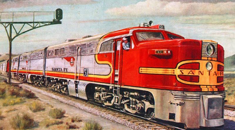 Пенсильванская железная дорога.