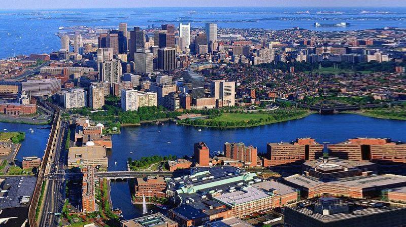 Вашингтон и Бостон, это мегаполис в соединённых штатах Америки