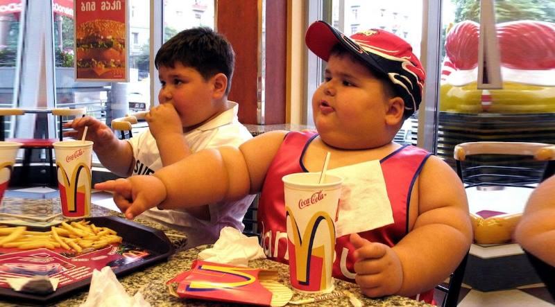 ребенок будет страдать ожирением