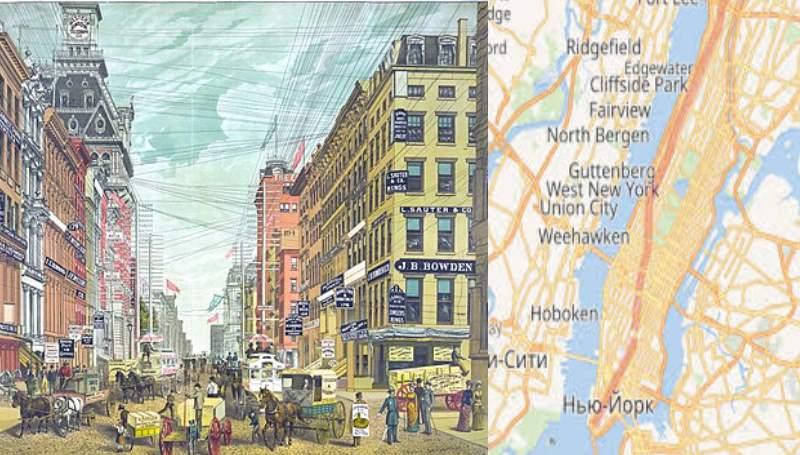 рисунок про Бродвей