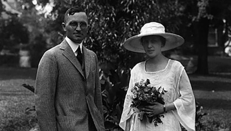 Труман с женой
