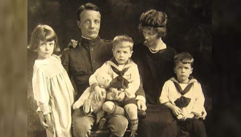 детская фотография Рузвельта
