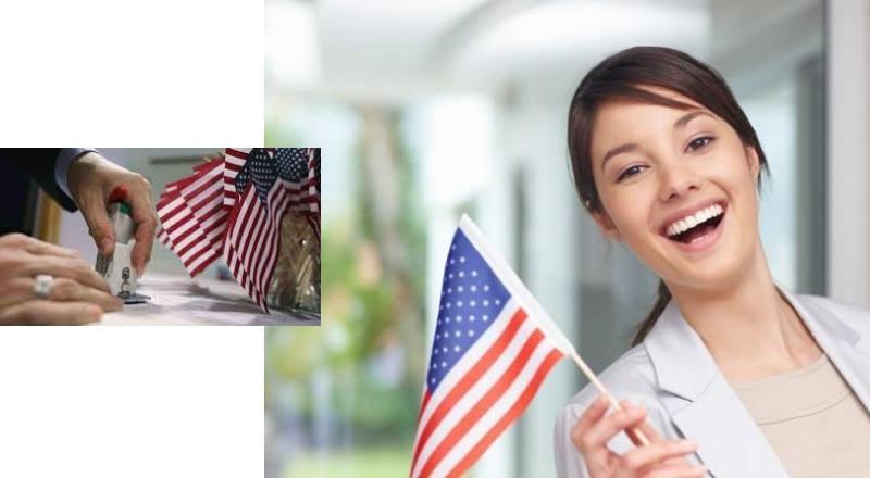 счастливая американка