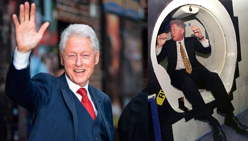 Досуг Клинтона Билла