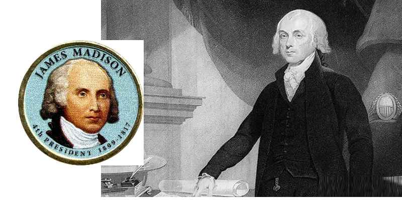 Впервые Мэдисон появился в поле зрения революционеров в 1775 году