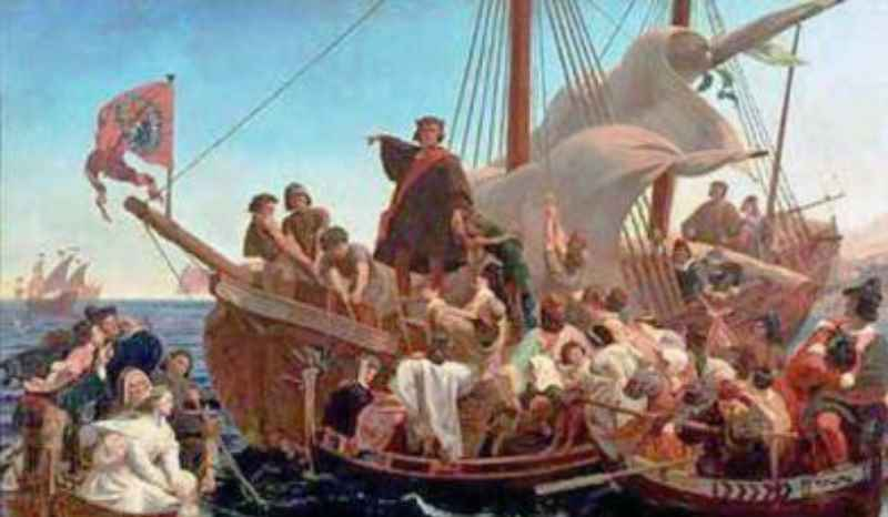 колонизация Америки рассматривается как трагическое противостояние