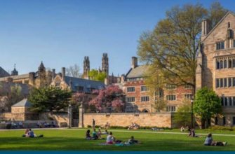 лето и весна студентов в Йеле