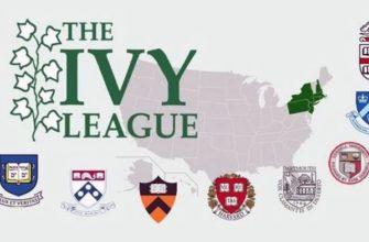 «возраст» университетов Лиги Плюща весьма солидный