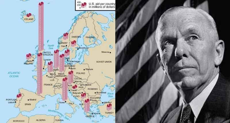 План Маршалла позволил оздоровить и поднять на высокий уровень экономику европейских стран