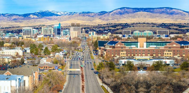 Для штата Айдахо характерен континентальный климат