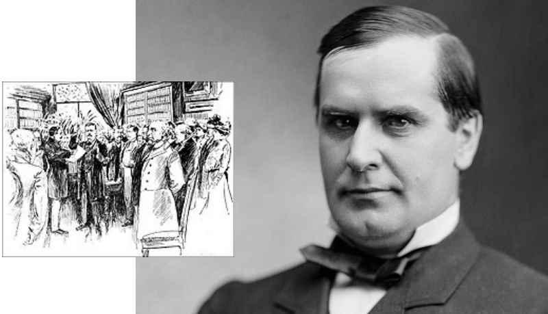 После окончания войны Уильям Мак-Кинли основал юридическую контору и успешно практиковал в качестве адвоката