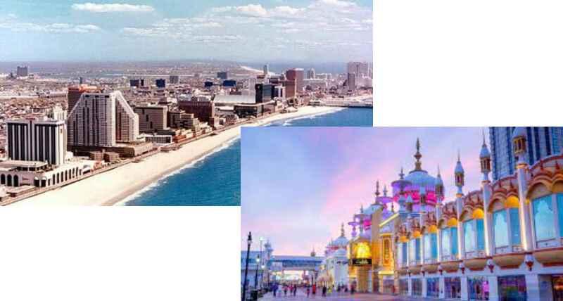 Американским игровым центром является Атлантик-Сити с большим количеством казино