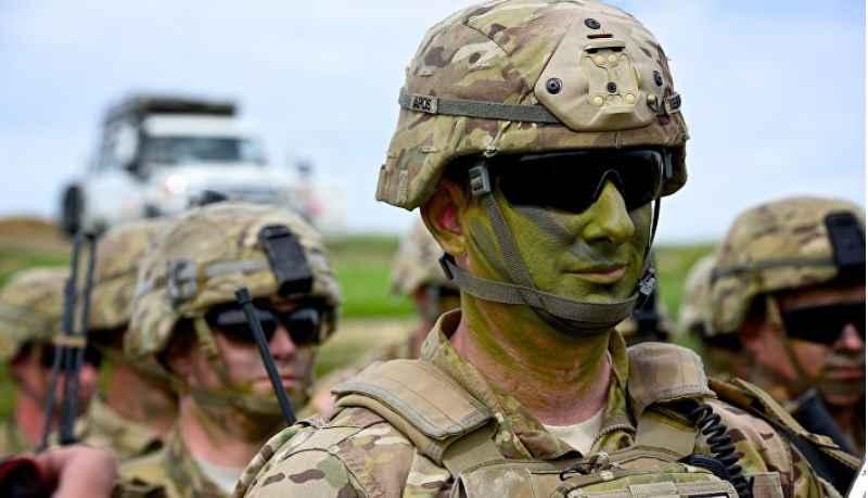 большая часть военнослужащих США не являлась профессионалами