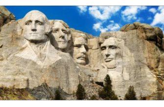 Первой создавалась фигура Джорджа Вашингтона