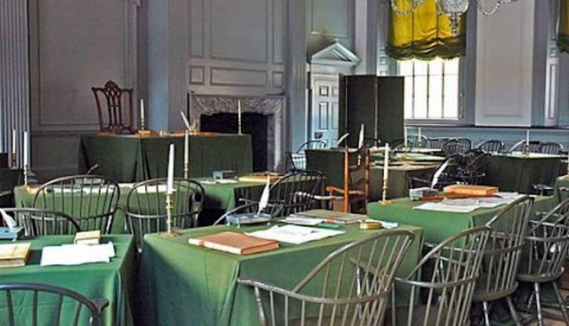 подписание Декларации о независимости
