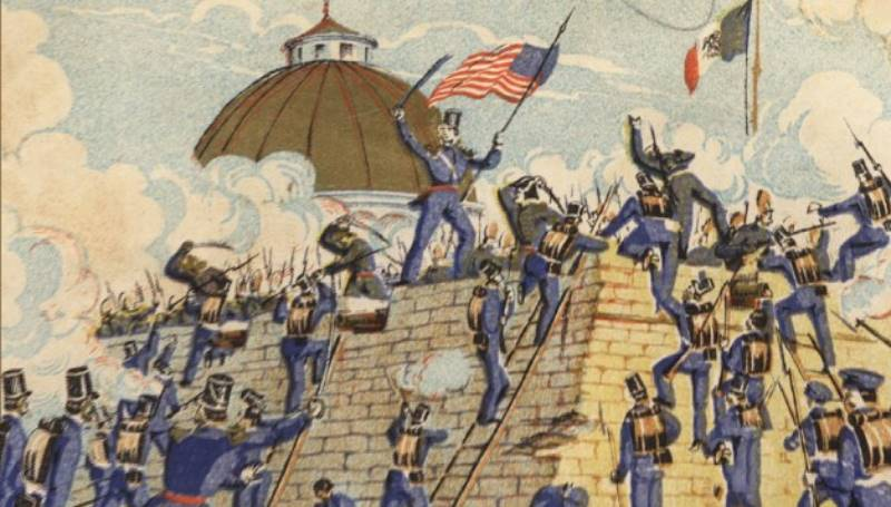 После объявления войны войска США вторглись на территорию противника