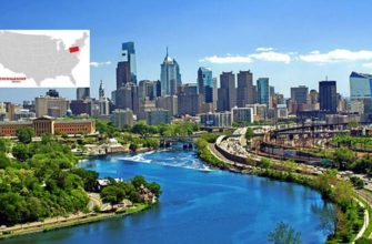 Самым большим городом штата считается Филадельфия