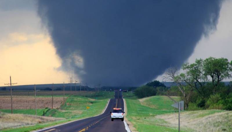 На территории штата Канзас преобладает континентальный климат